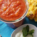 Mexikanische Tomatensuppe mit Tortillas